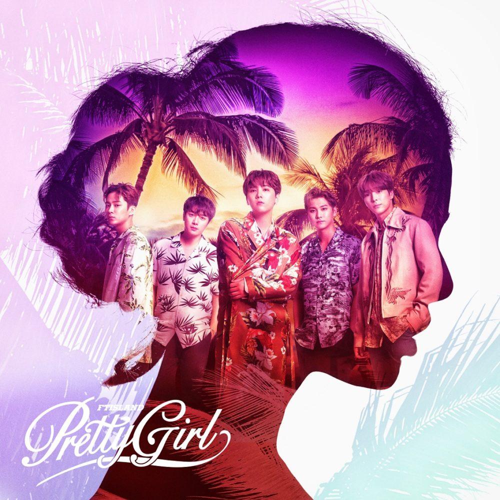 FTISLANDのシングル「Pretty Girl」ジャケット写真