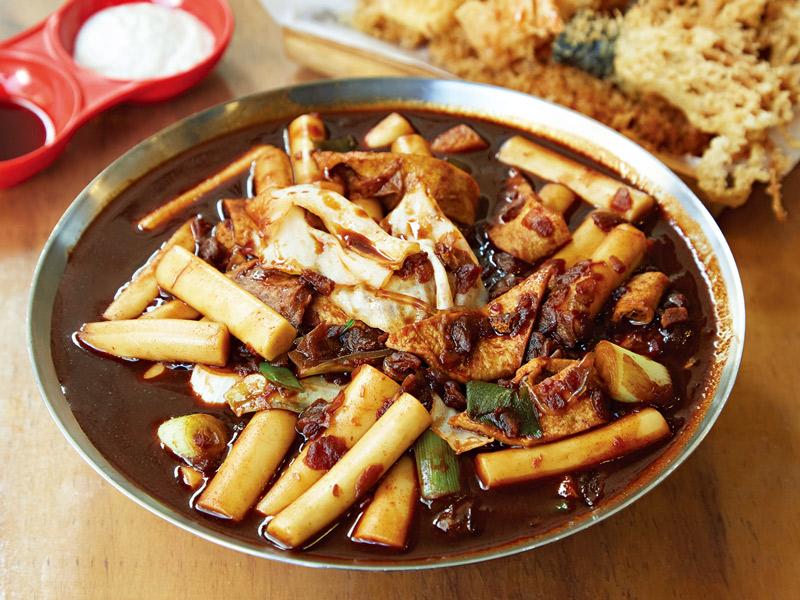 韓国料理「トッポッキ」
